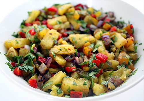 ... grilled pineapple grilled pineapple jicama salsa pineapple salsa and